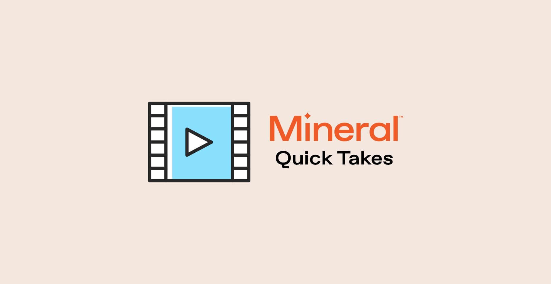 Mineral Quick Takes video thumb
